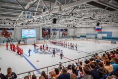 хоккейный матч день защиты детей ск легенда домодедово 2