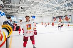 хоккейный матч день защиты детей ск легенда домодедово 7