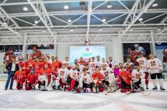 хоккейный матч день защиты детей ск легенда домодедово 9