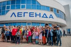 хоккейный матч день защиты детей ск легенда домодедово 10